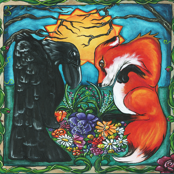 The Raven & The Fox - Album Cover