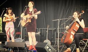 The Mae Trio, Festival Folk sur le Canal, Montréal, Québec, 17 June 2017
