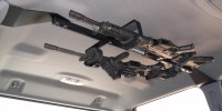 CENTER-LOK OVERHEAD GUNRACK FOR TACTICAL WEAPONS  TRUCK ...