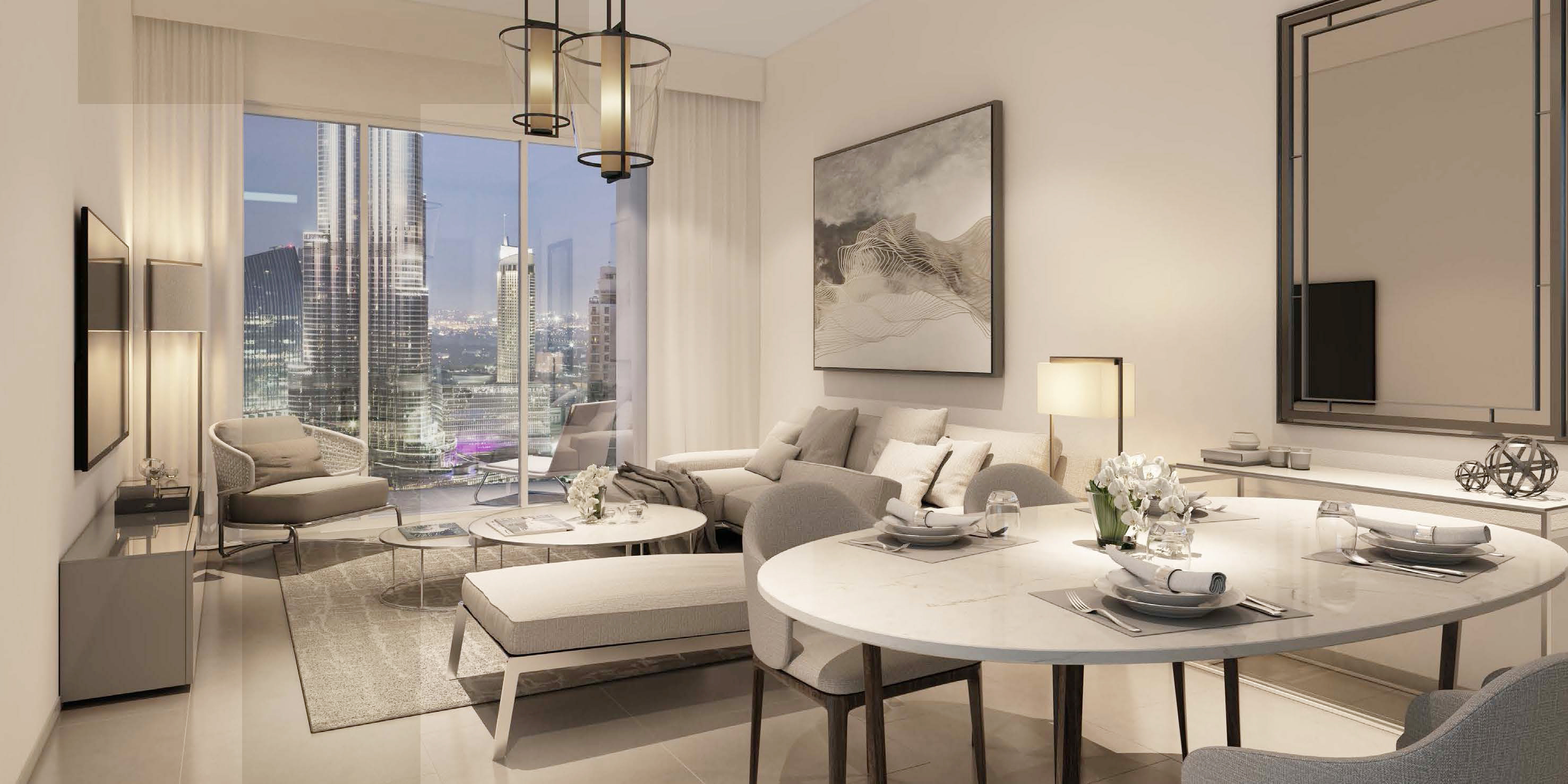 3 bedroom luxury apartment in dubai downtown for sale top real