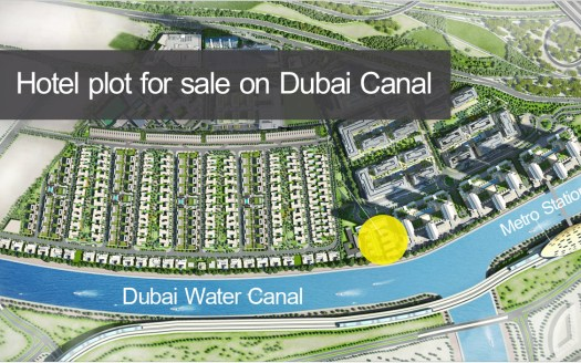 Dubai Canal plot for sale