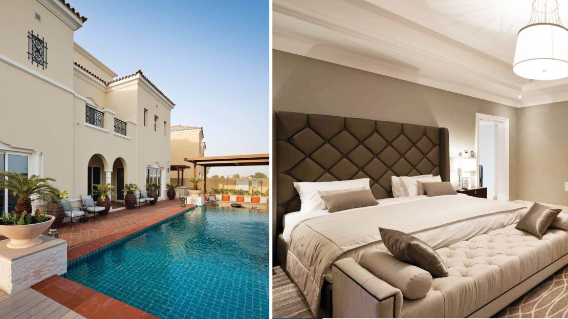 La Avenida Villa community in Dubai Arabian Ranches