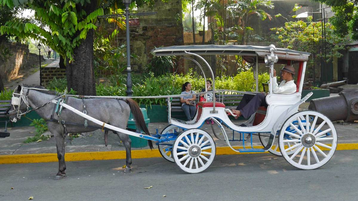 Intramuros-carriage