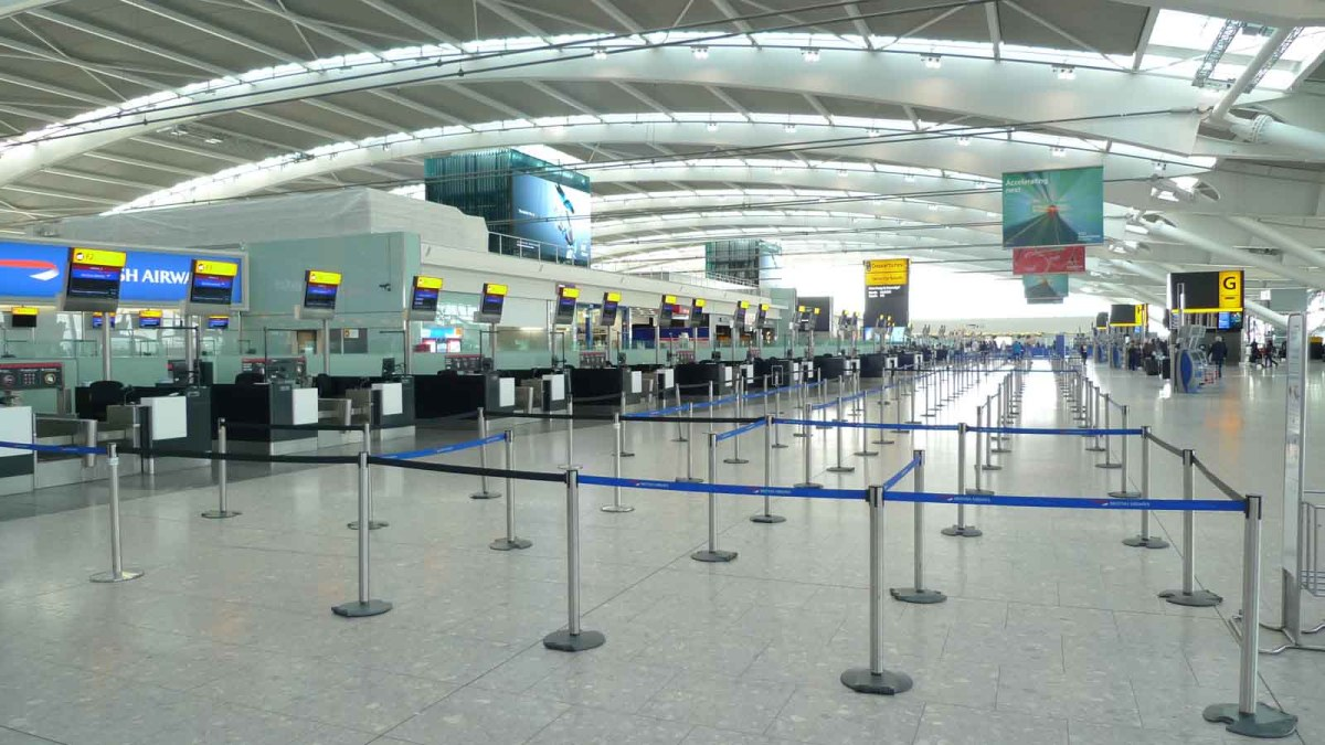 heathrow t5 interior