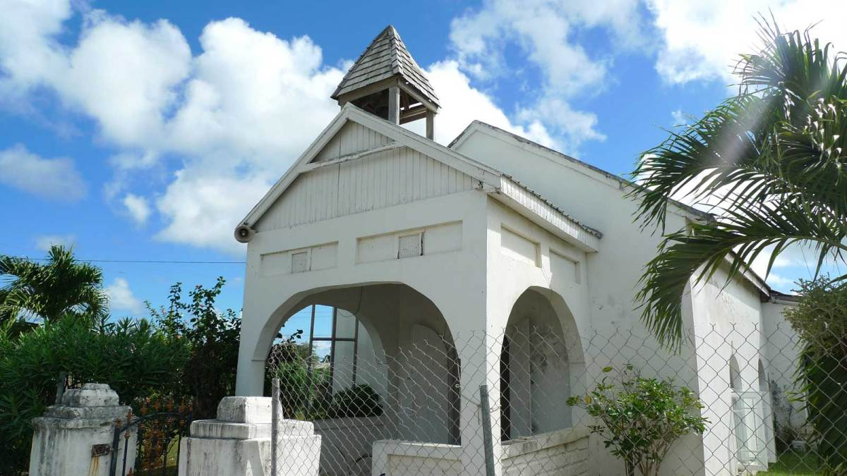 Barbuda-church
