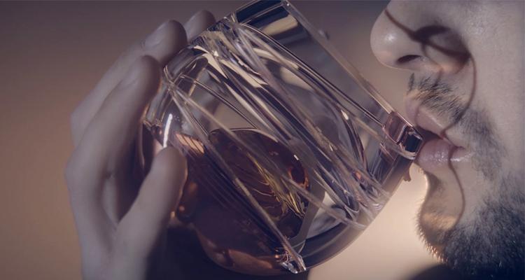 Ballentine's Space Glass