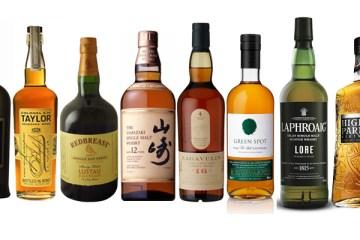 Top 10 Whiskies