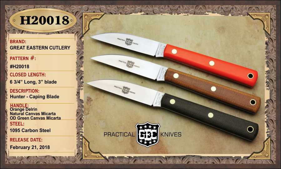 Hunting Knives  Great Eastern Cutlery