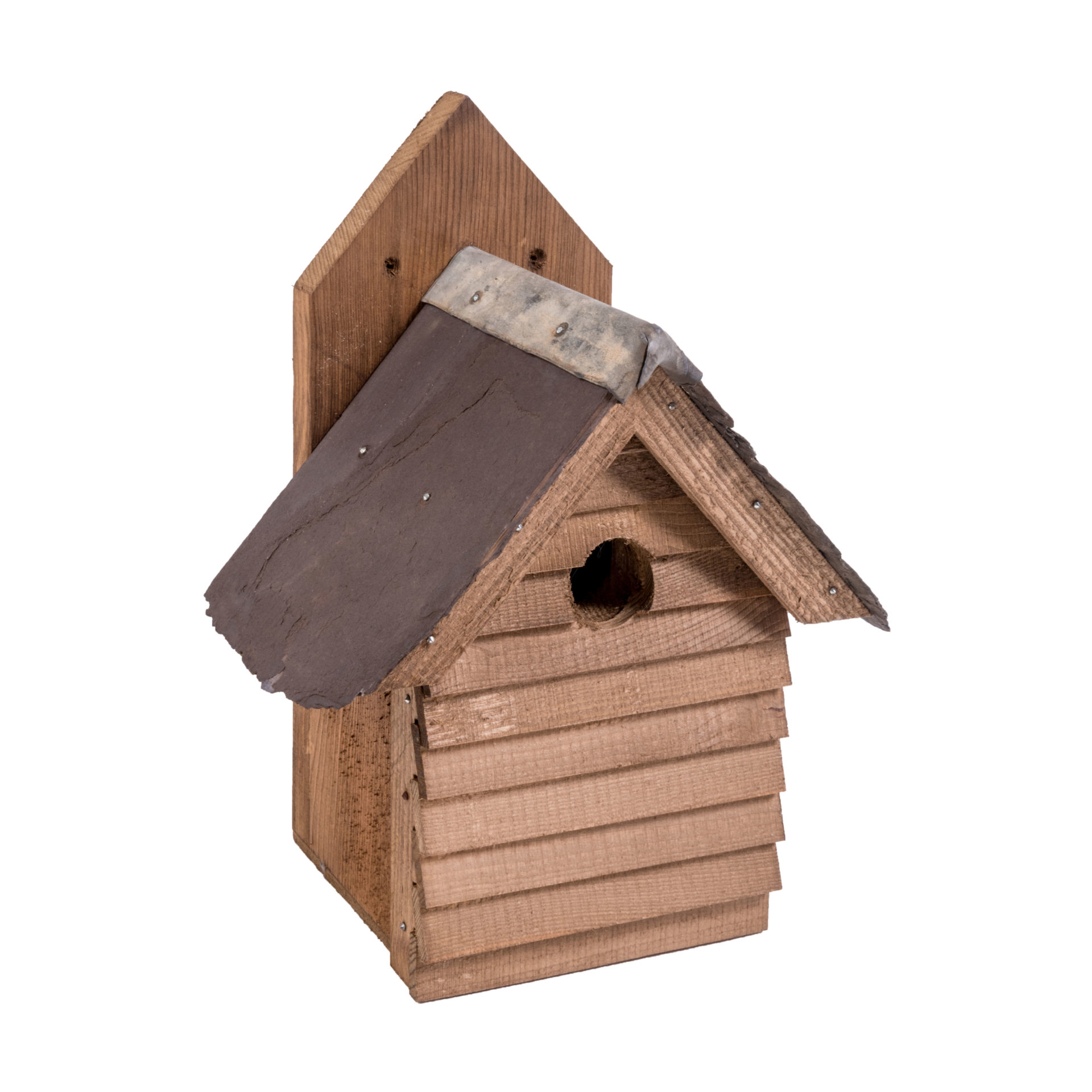 02 Box Wood And Slate Bird Box 02 — Great English Outdoors