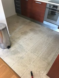 Deep Cleaning Grubby Terrazzo Kitchen Tiles at Manchester ...
