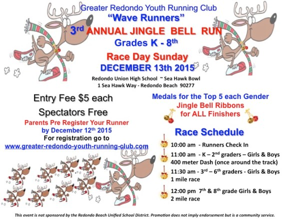 2015 GRYRC Jingle Bell Run