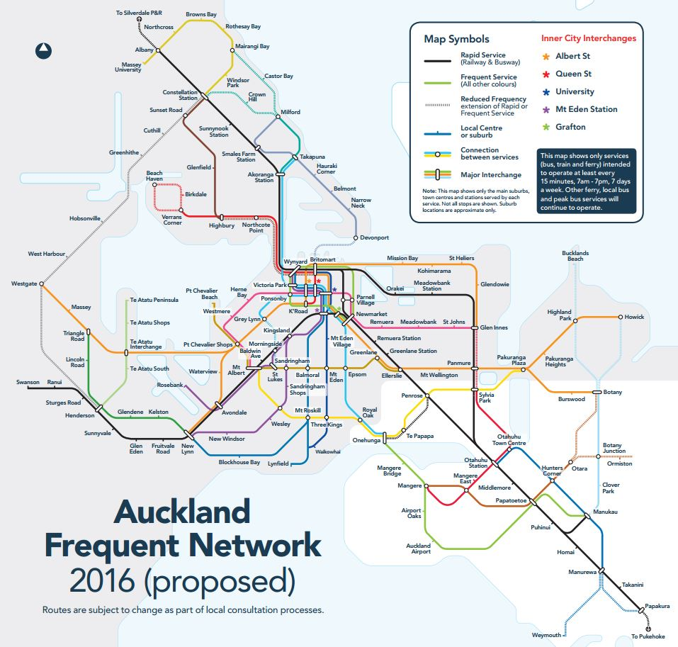 New Bus Network May 2013