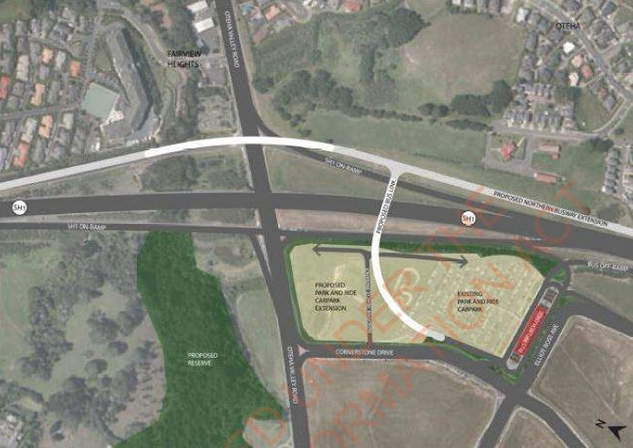 Northern Busway Extension - Eastern access to Albany