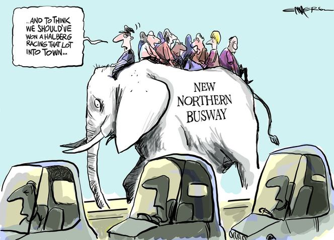 Northern Busway White Elephant