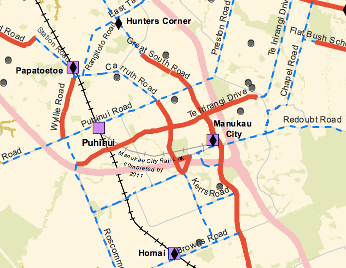 Manukau Cycle Network