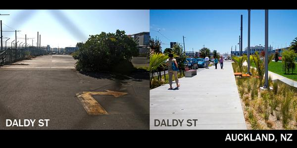 Daldy St before and after