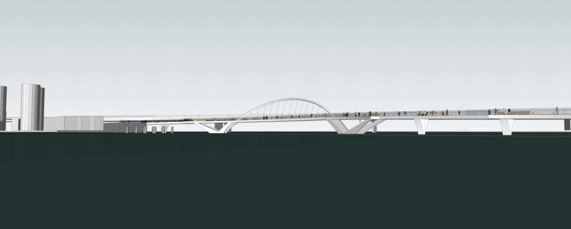 New Mangere Bridge - Harbour