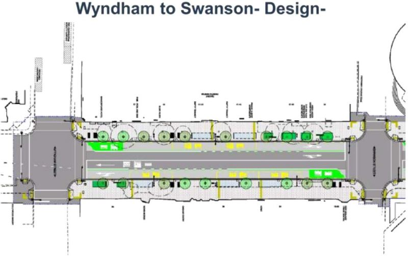 Albert St Design - Wyndham to Swanson