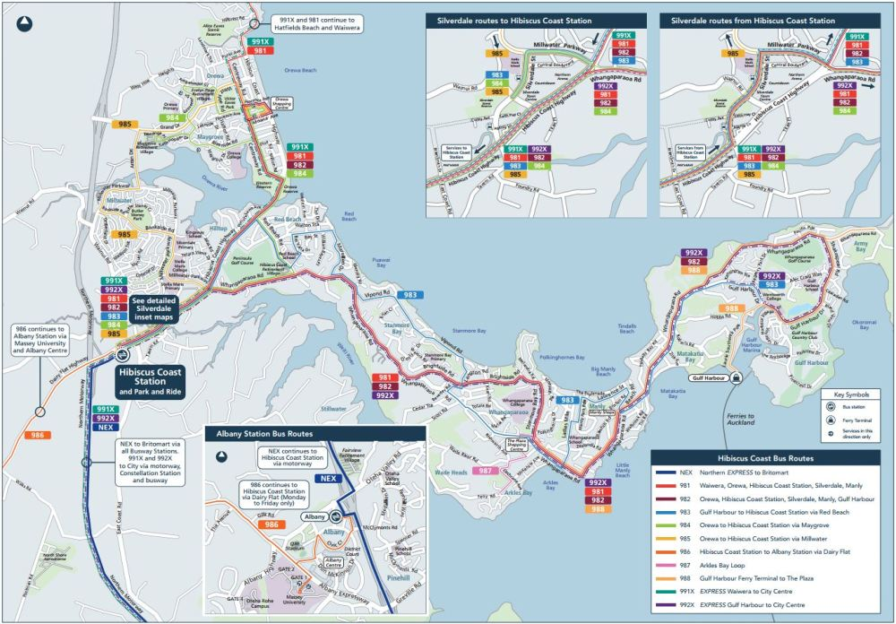 Hibiscus Coast New Bus Network