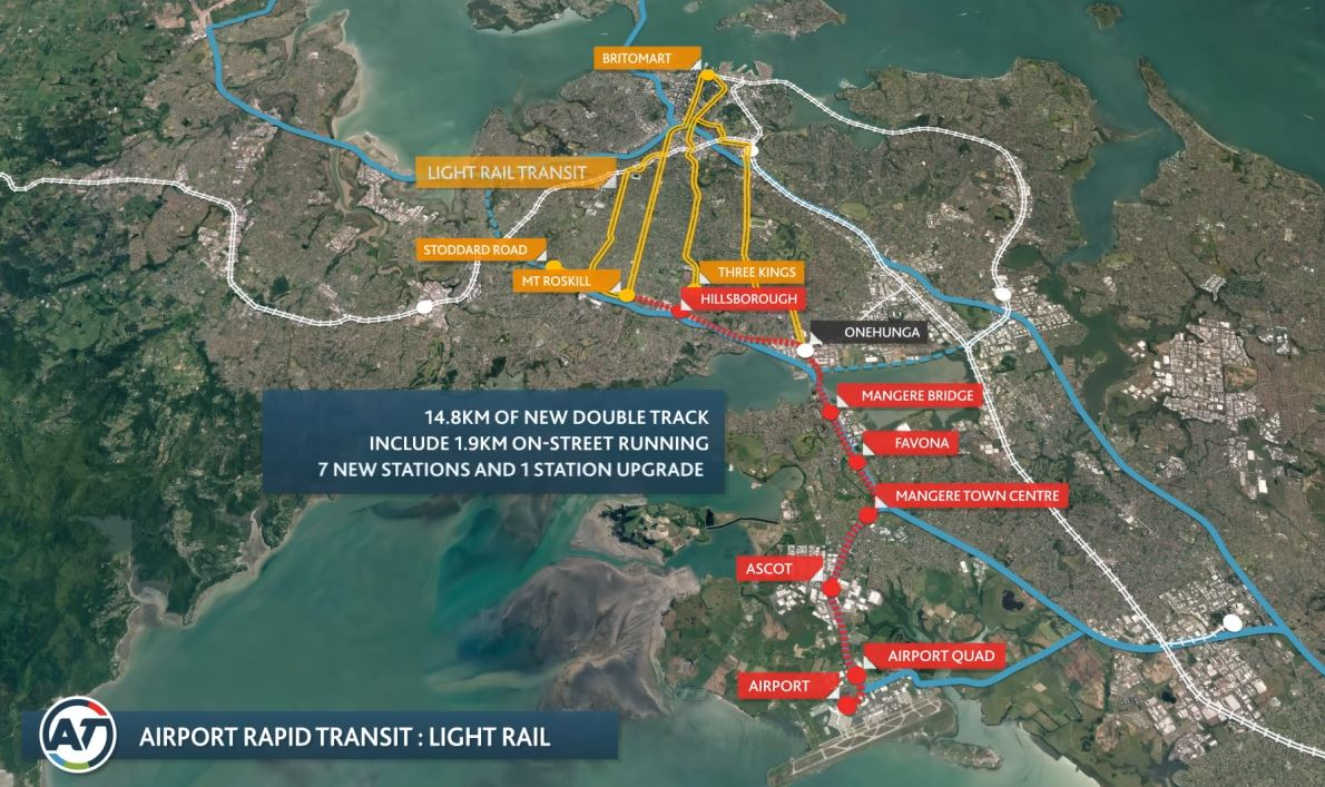 Perhaps Light Rail is fast enough afterall - Greater Auckland