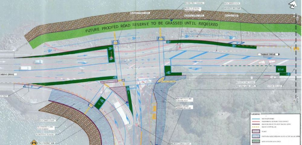 Tamaki-Ngapipi Intersection Consent Plan 2