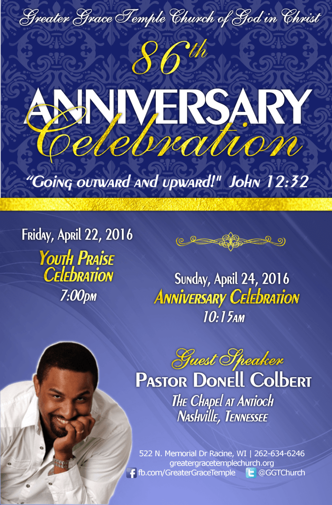86th Church Anniversary