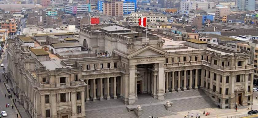 Palacio de Justicia Lima Peru