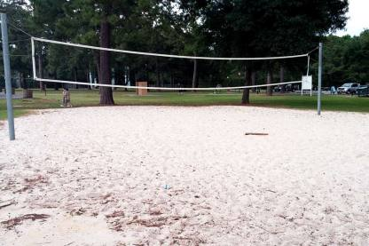 Juergens Park Regulation Size Sand Volleyball Court