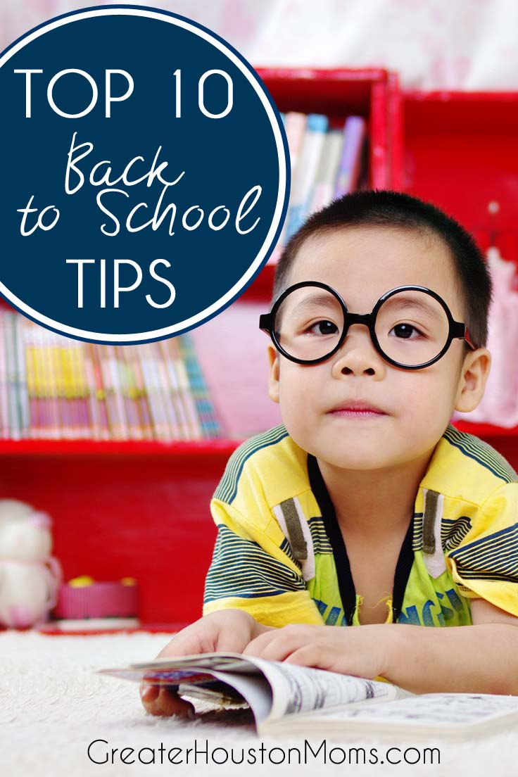 Back to School Tips for moms, for teens, for students, for parents, for all!