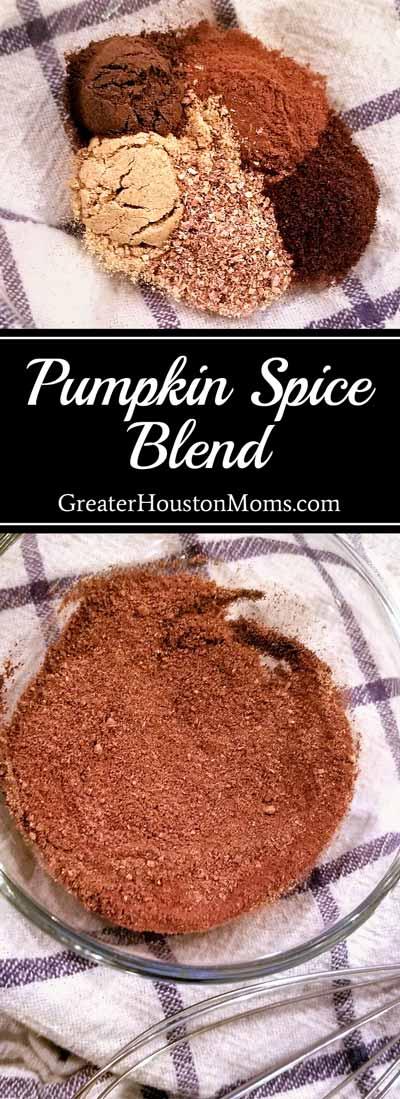 Pumpkin Spice Blend Recipe