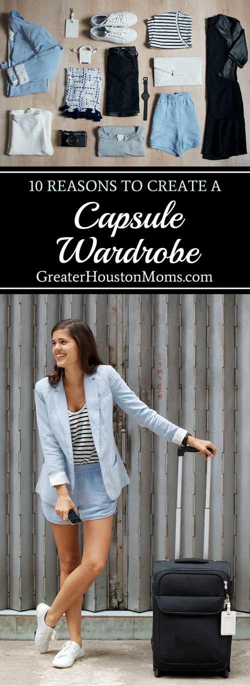 10 Reasons to Create a Capsule Wardrobe