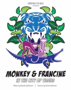 "Opera to Go! Houston Grand Opera's ""Monkey and Francine in the City of Tigers"" @ Sugar Land Auditorium 