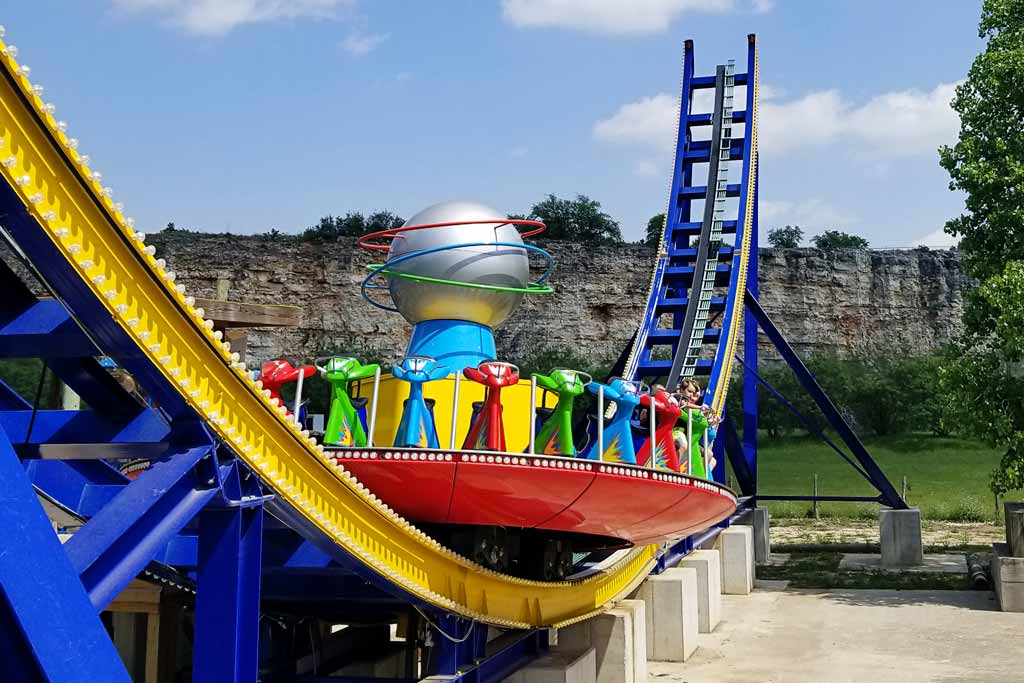 Six Flags Fiesta Texas Hurricane Force 5