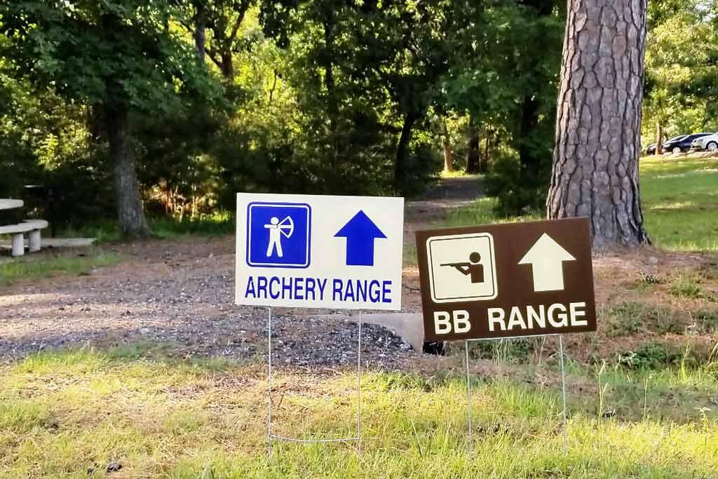 Camp BB Archery Spring Creek Park