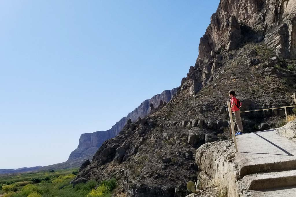 Santa Elena Canyon Trail