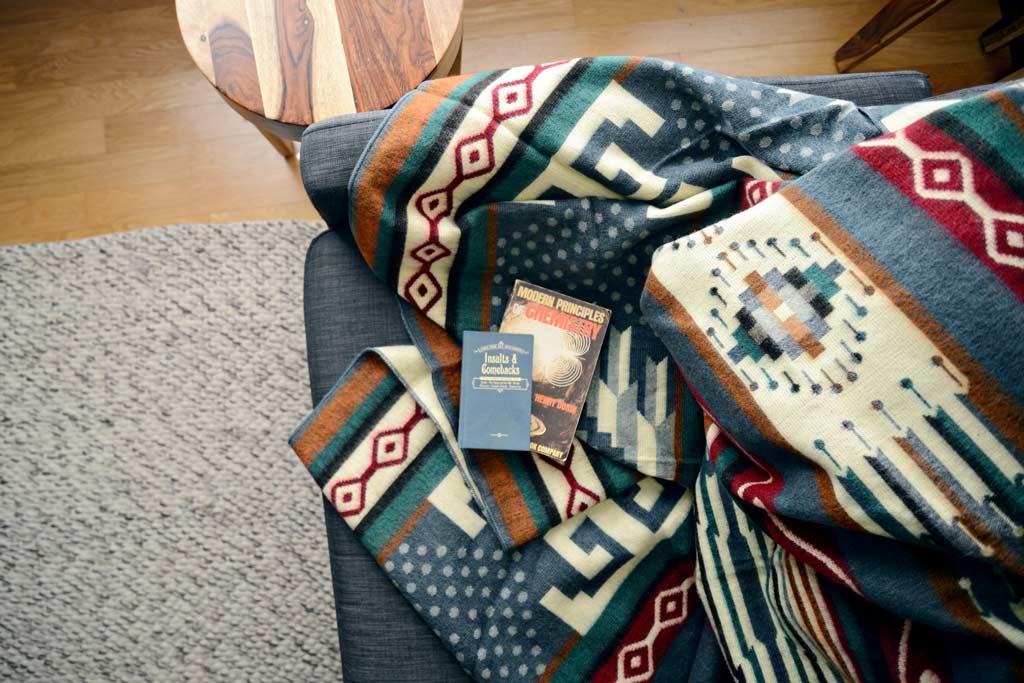 Ecuadane Tungurahua Polk-A-Dot Blanket