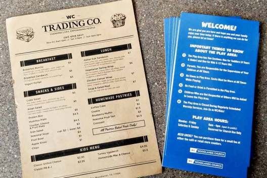 Woodlands Church Trading Co. Cafe