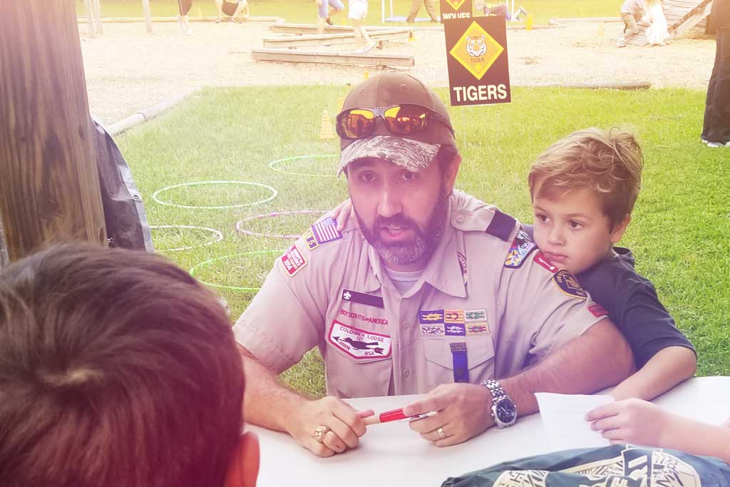 BSA Scout Family - Bobcat Day