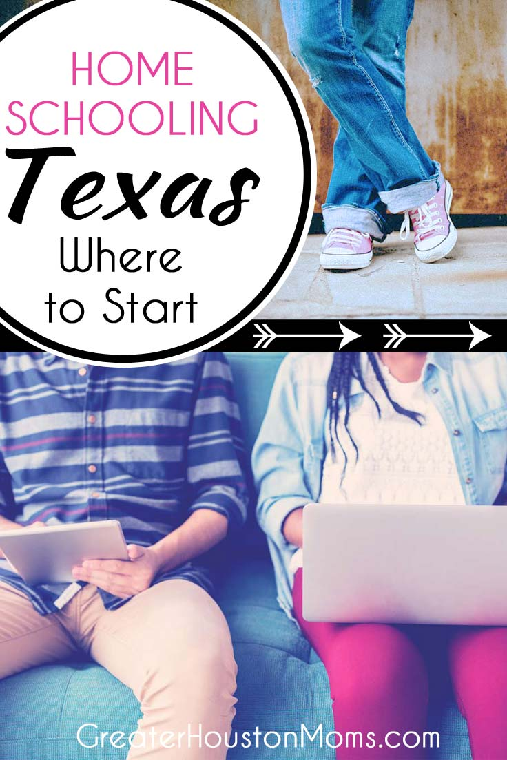 Homeschooling in Texas Where to Start