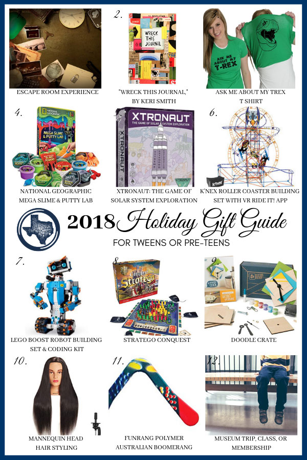 2018 Holiday Gift Guide for Tweens