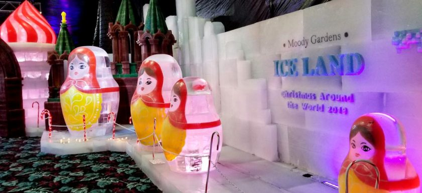 Moody Gardens Ice Land