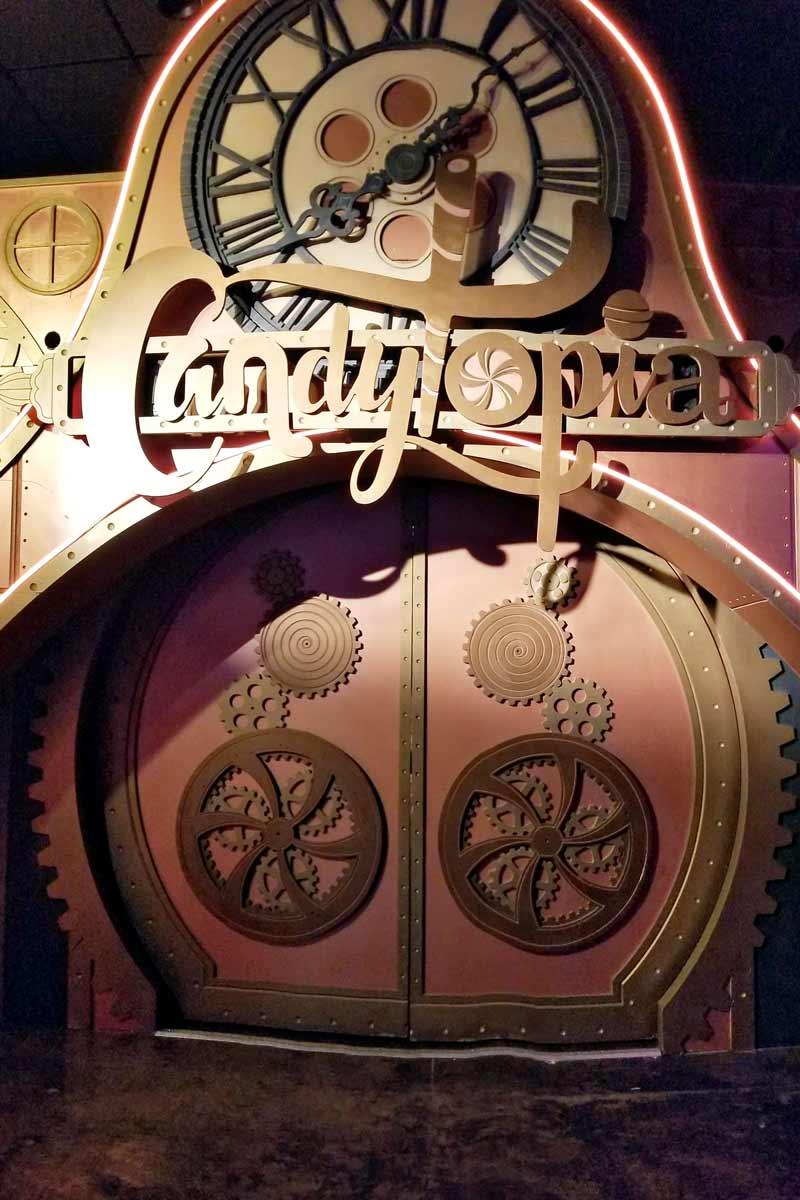 Candytopia doors
