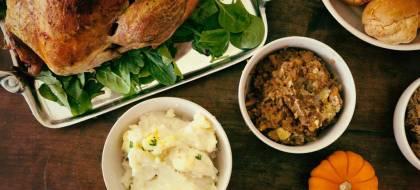 Thanksgiving Dinner Delivered