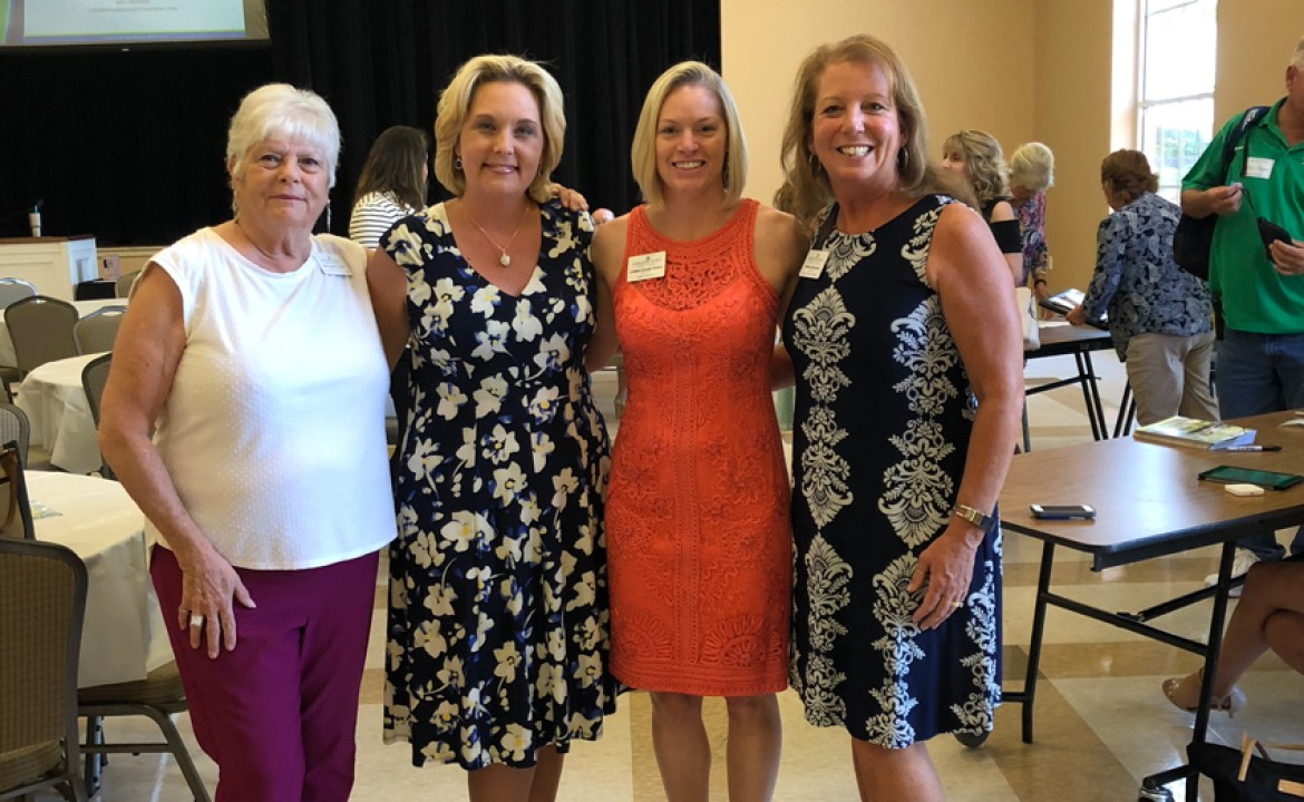 August Luncheon Networking