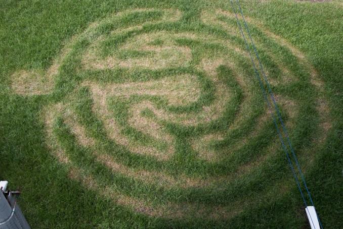 The Backyard Labyrinth - Greater Light