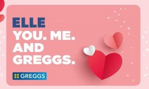Greggs giftcard