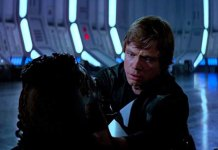 Luke unmasks Darth Vader (c) Lucasfilm