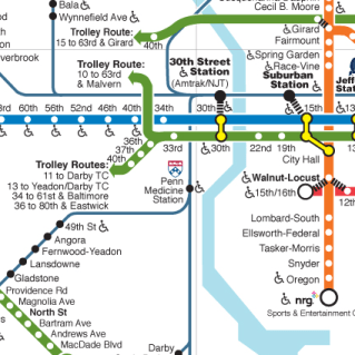 Official SEPTA System Map