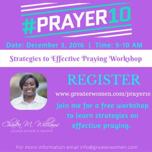 prayer-workshop