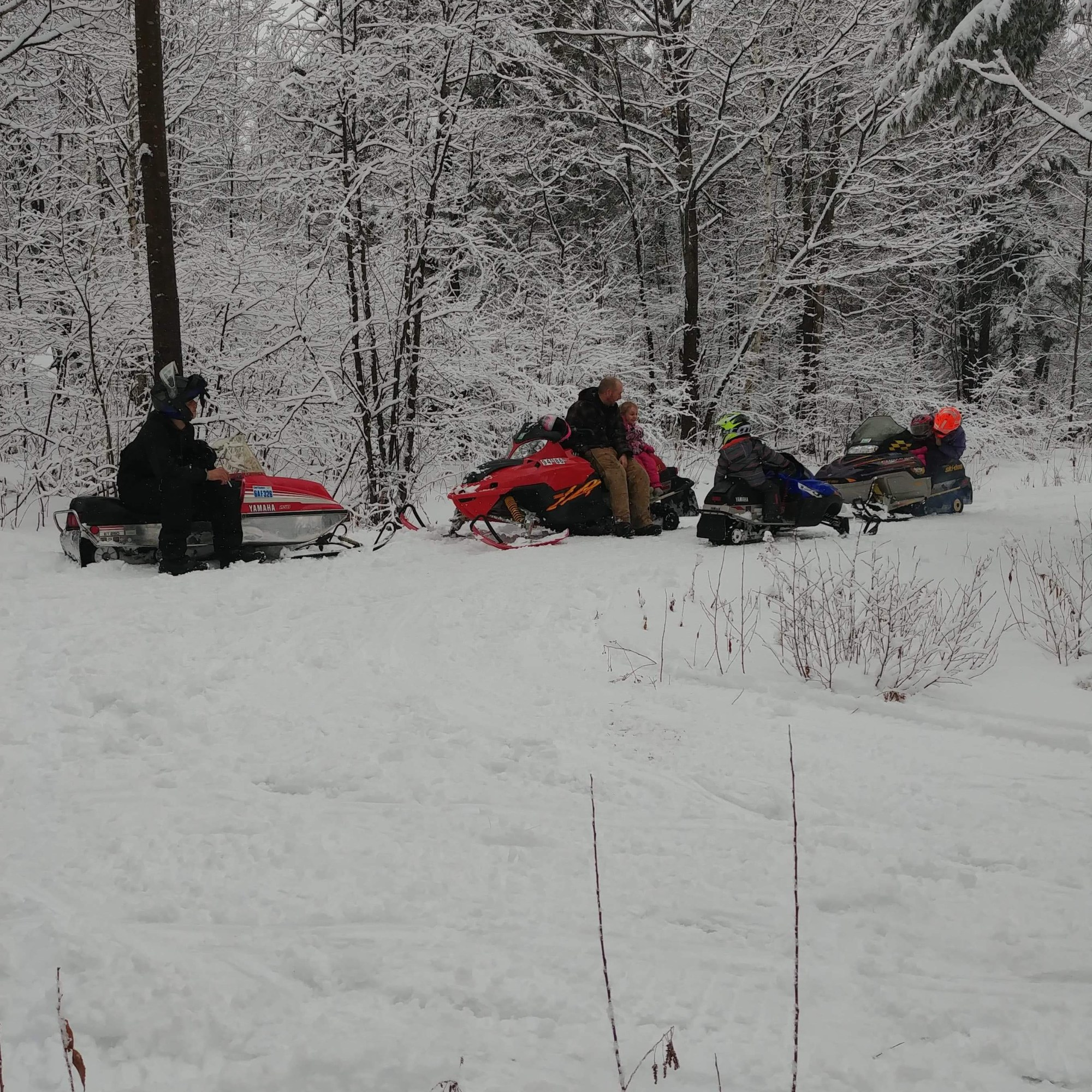 Snowmobiling Trail French River